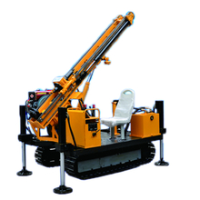 MGJ-50L Power head rotation crawler mounted anchor Drilling rig