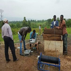 GYGD Wide Angle and Rotary Borehole Inspection Camera work in Africa
